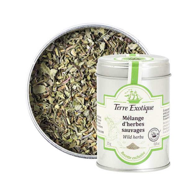 Mélange d'herbes sauvages de Crète
