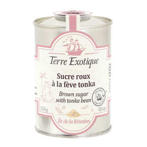 Terre Exotique - Brown Cane Sugar with Tonka Bean