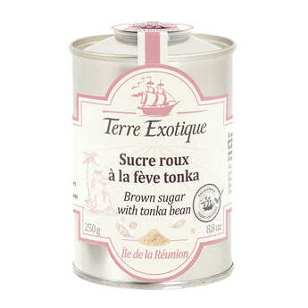 Terre Exotique - Brown Cane Sugar with Tonka Bean