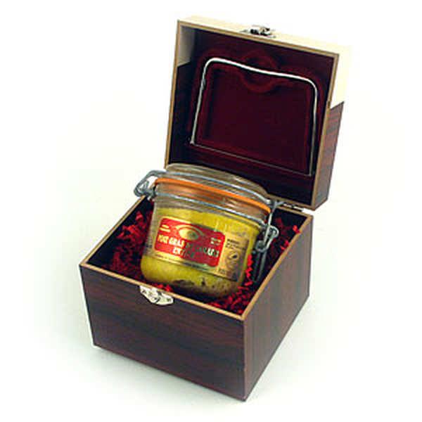 Coffret foie gras - le bocal et son coffret