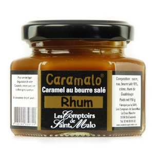 Les Comptoirs de Saint Malo - Caramalo Salted Caramel Cream with Rum