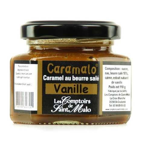 Les Comptoirs de Saint Malo - Crème de caramel au beurre salé Caramalo à la Vanille