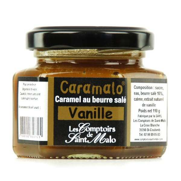 Caramalo Salted Caramel Cream with Vanilla