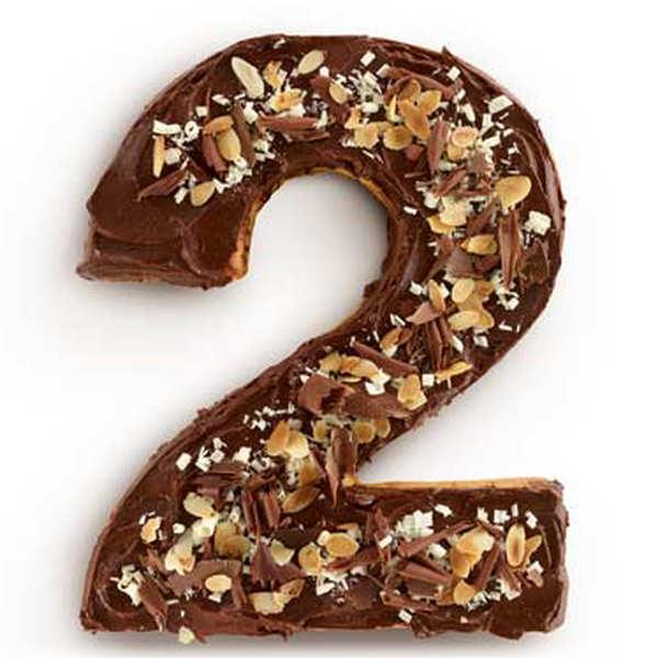 Number cake mould - n°2
