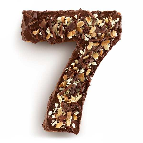Moule à gâteau silicone numéro 7