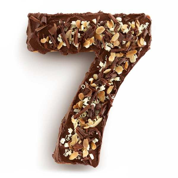 Number cake mould - n°7