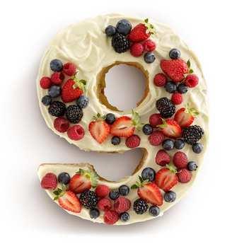 Lékué - Moule à gâteau silicone numéro 9