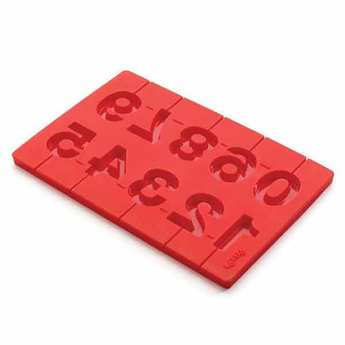 Lékué - Silicone numbers mould for birthday lollies