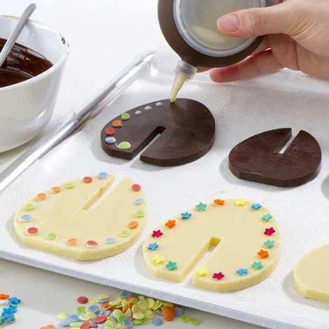 Lékué - Moule silicone oeufs en chocolat 3D