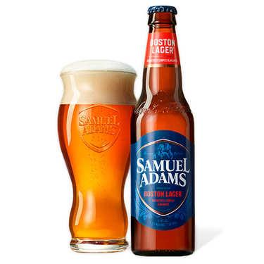 Samuel Adams beer - Boston Lager - 4.8%