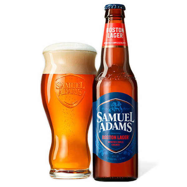 Bière Samuel Adams - Boston Lager - 4.8%
