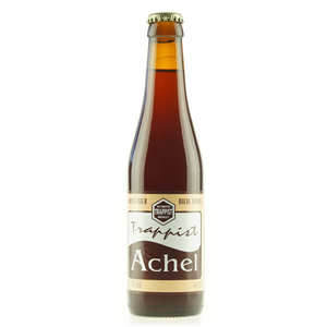 Monastère d'Achel - Achel brune - Bière Trappiste de Belgique - 8%