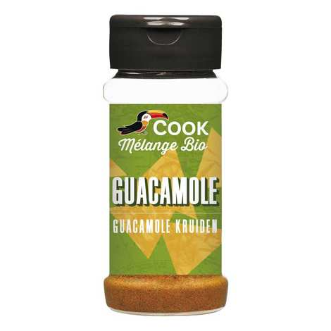 Cook - Herbier de France - Organic Guacamole seasoning mix