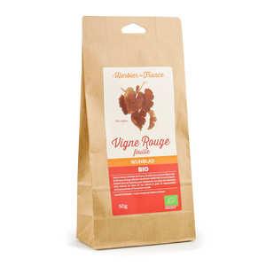 Cook - Herbier de France - Organic red vine leaves tea infusion