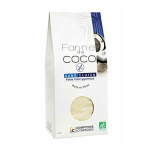 Comptoirs et Compagnies - Farine de coco bio sans gluten