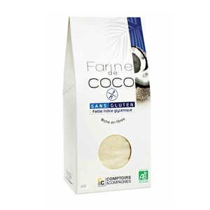 Comptoirs et Compagnies - Organic A,d Gluten Free Coconut Flour