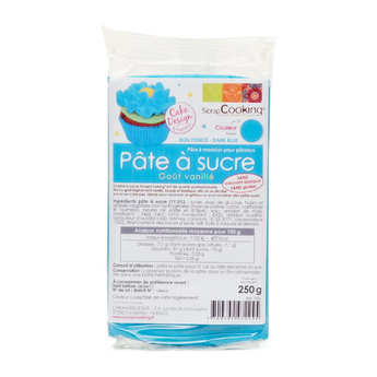 ScrapCooking ® - Royal blue ready-roll icing
