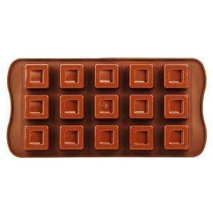 Silikomart - EasyChoc Silikomart ® chocolate cube mould