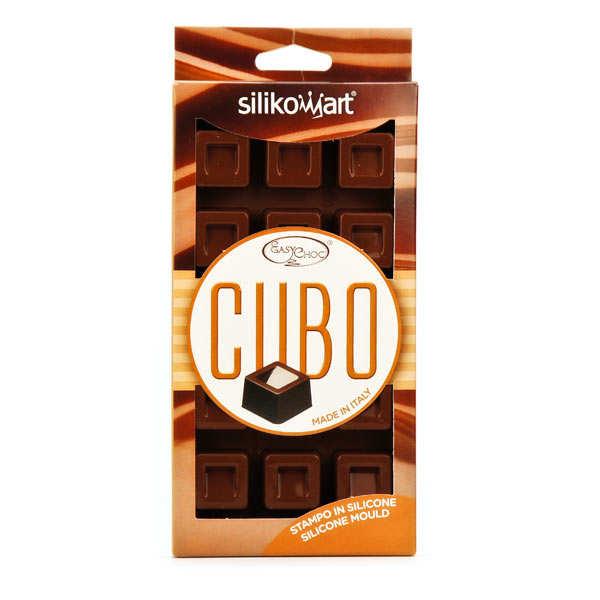 EasyChoc Silikomart ® chocolate cube mould