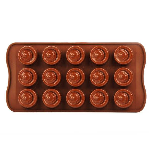Moule silicone spécial chocolat - EasyChoc Vertigo
