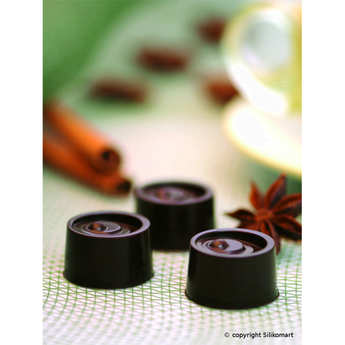 Silikomart - EasyChoc Silikomart ® chocolate cube Vertigo