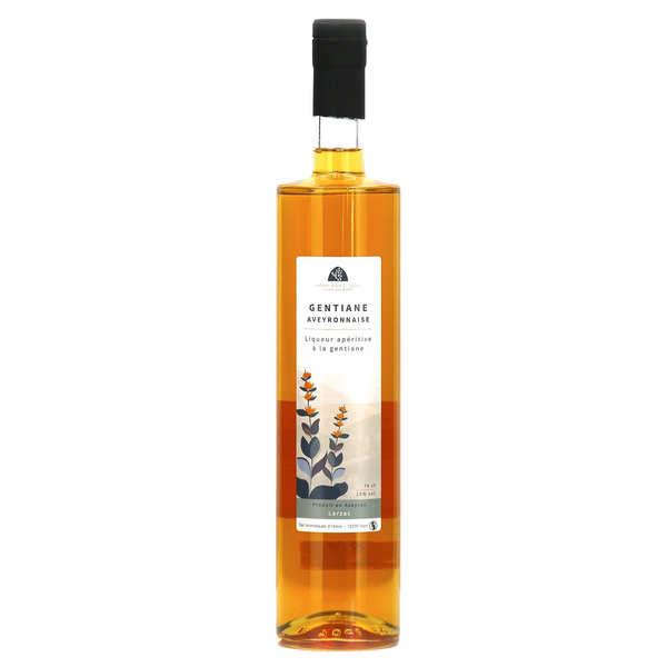 Liqueur de gentiane artisanale de l'Aveyron