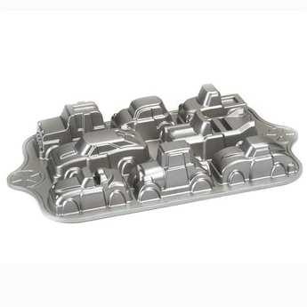 Nordic Ware - Moule 8 voitures fonte d'aluminium
