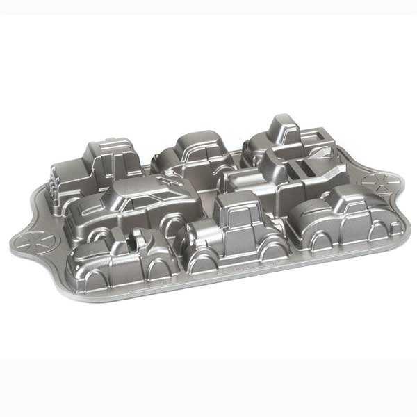Moule 8 voitures fonte d'aluminium