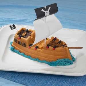 Nordic Ware - Moule fonte d'aluminium bateau de pirates
