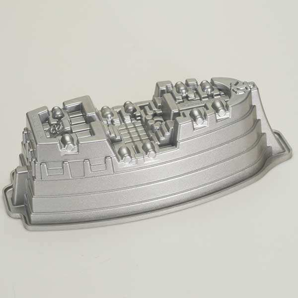 Moule fonte d'aluminium bateau de pirates