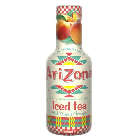 Arizona Iced Tea - Arizona au thé noir et à la pêche - Bouteille