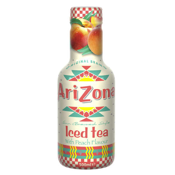 arizona iced tea with peach arizona iced tea
