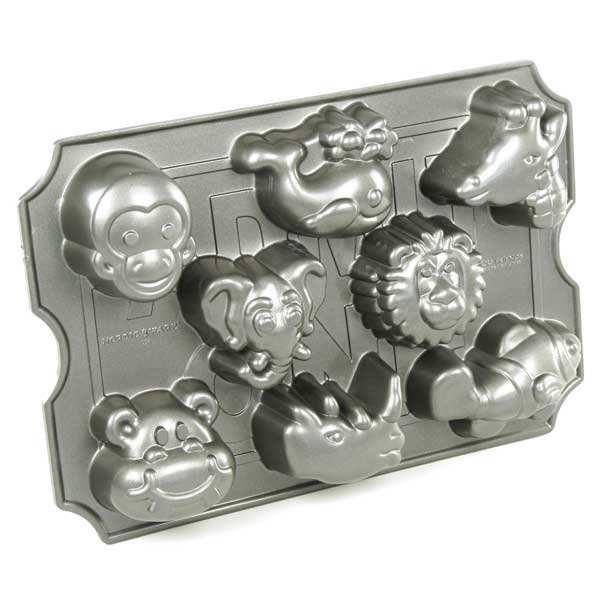 Moule fonte d'aluminium animaux du zoo