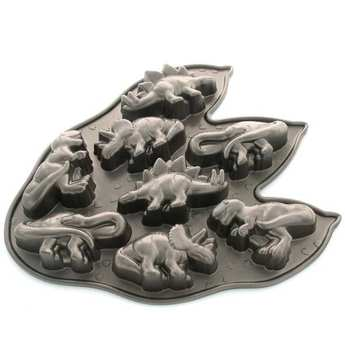 Nordic Ware - Mould 8 dinosaurs