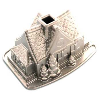 Nordic Ware - Mould gingerbread house in cast aluminium
