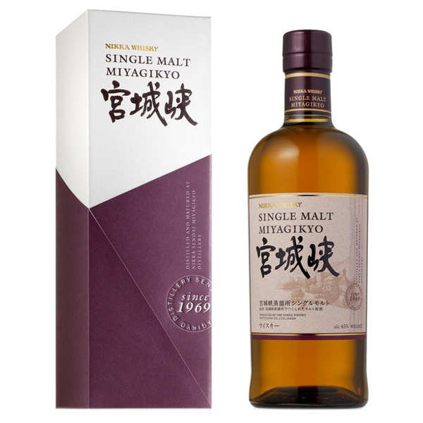 Nikka Miyagikyo Single Malt Whisky - 45%