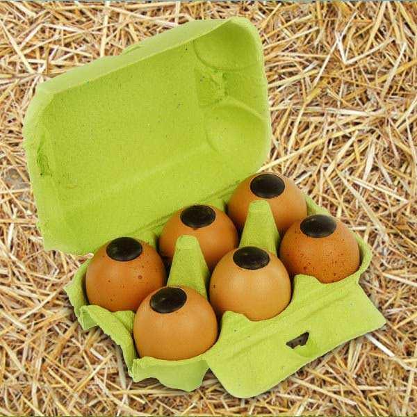 Box of chocolate eggs