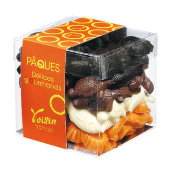 Voisin chocolatier torréfacteur - Easter chocolate - Cube