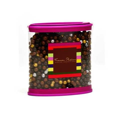 Chocolats François Pralus - Ecrin de perles en chocolat assorties