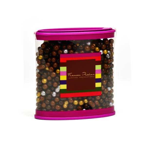 Ecrin de perles en chocolat assorties