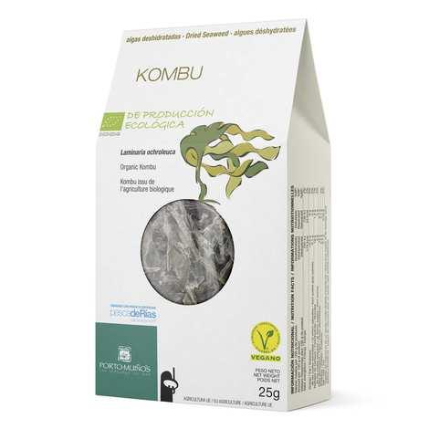 Porto Muinos - Kombu - Algues déshydratées bio
