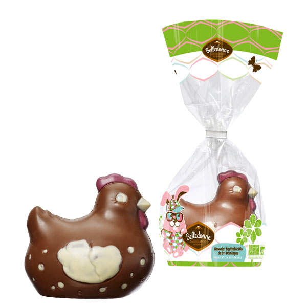 Organic Milk chocolate Hen