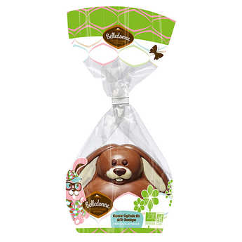 Belledonne Chocolatier - Organic easter funny bunny