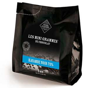 Michel Cluizel - Les minigrammes Kayambé dark 72%– chocolate for culinary use