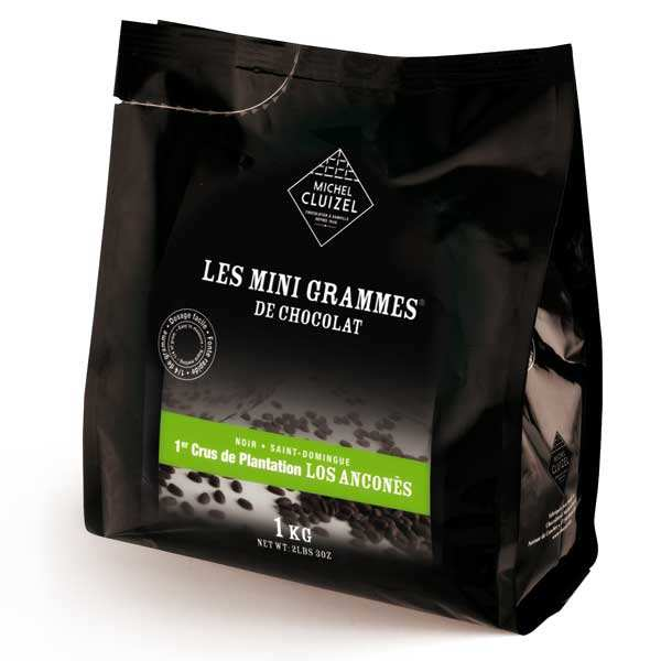 Organic - Minigrammes Los Anconès 67%– chocolate for culinary use
