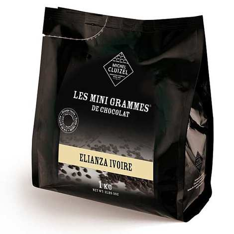 Michel Cluizel - Les minigrammes Elianza Ivory – chocolate for culinary use