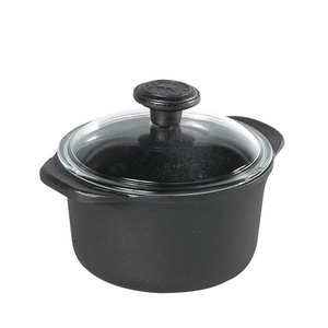 Skeppshult - Cast iron casserole dish with glass lid - 1.5l