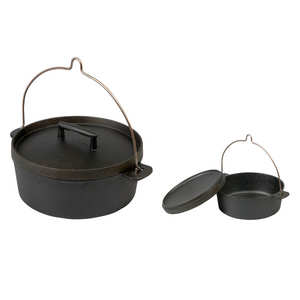 Skeppshult - Old-fashioned cooking pot with handle