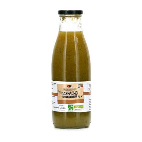 Oh ! Légumes oubliés - Gaspacho de concombres à la menthe verte bio