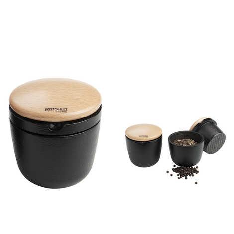 Skeppshult - Cylindrical wooden grinder